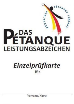 DPV-PLA-Prüfkarte
